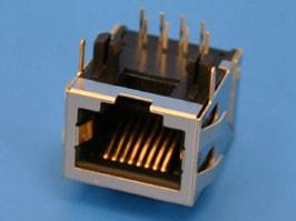 TJ16S-8P8C, Разъем на плату 8-8 (RJ-45), тип16