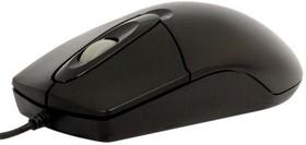 Мышь A4 OP-720 оптическая проводная PS/2, черный