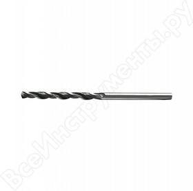 Фото 1/2 72208, Сверло по металлу, 0,8 мм, быстрорежущая сталь, 10 шт. цилиндрический хвостовик