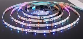30Led-7.2W-IP20-12V RGB, Лента светодиодная, 30SMD(5050)/m, 7.2Вт/м, цена за катушку 5м