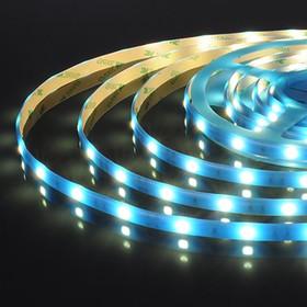 30Led-7.2W-IP65-12V синий, светонакопительный эффект, Лента светодиодная, 30SMD(5050)/m, 7.2Вт/м, цена за катушку 5м