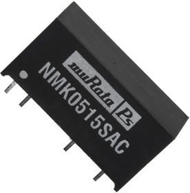 Фото 1/2 NMK0515SC, DC/DC преобразователь, 2 Вт, вход 4.5-5.5В, выход 5в/0.067А, SIP