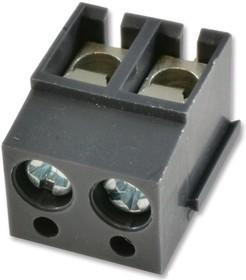 Фото 1/2 20.101M/2, Клеммная колодка типа провод к плате, 5 мм, 2 вывод(-ов), 22 AWG, 12 AWG, Винт