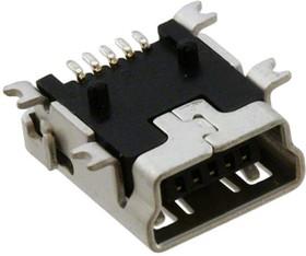 Фото 1/2 897-43-005-00-100001, Гнездо USB-mini тип B на плату SMT