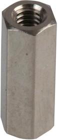 Фото 1/2 DTRFAHSSFFM2.5-10-5, Стойка, Сталь, M2.5 x 0.45, Шестигранная Гнездовая, 10 мм, DTRF Steel Series