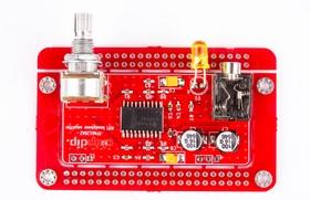 Печатная плата Headphone amp TPA6120, Печатная плата с разводкой, FR4 75х45мм (1.5мм, 18мкм)