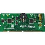 MIKROE-184, UNI-DS3 64 pin ARM card option, Дочерний модуль с установленным МК NXP LPC2148