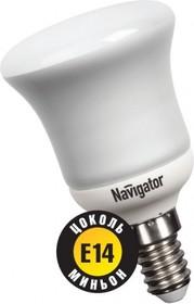 """Фото 1/2 NCL-R50-08-830-E14 (94086), Лампа энергосберегающая """"зеркальная"""" R50, 8Вт, E14, 3000K"""