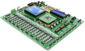 Фото 1/5 MIKROE-995, EasyPIC PRO v7 Development System, Полнофункциональная отладочная плата для изучения МК 8-бит PIC high pin-count