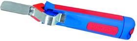 4-28G, Нож кабельный (стриппер) с прямым лезвием, 4-28мм