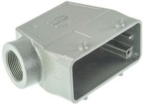 9300160520, Hood 90° 16 Shell Size Powder Aluminum Die Cast