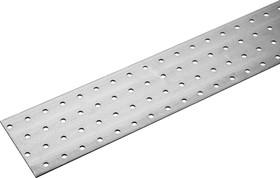 310256-080-480, Пластина соединительная ПС-2.0, 80х480 х 2мм, ЗУБР