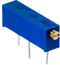 3006P-1-500LF, 50 Ом подстроечный резистор