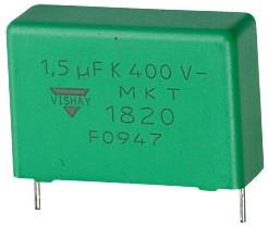К73-17 имп, 1.5 мкФ, 400 В, MKT1820-515-405, Конденсатор металлоплёночный