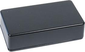 Фото 1/2 BS13BK, Корпус для РЭА 114x64x30мм, металл, герметичный, черный