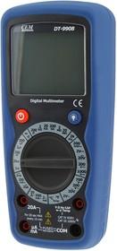 Фото 1/3 DT-9908, Мультиметр цифровой с функцией термометра (Госреестр РФ)
