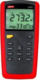 UT322, Измеритель температуры, контактный 2-х канальный, от -200 до +1372°C