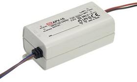 APV-16-24, AC/DC LED, 24В,0.67А,16Вт,IP30 блок питания для светодиодного освещения
