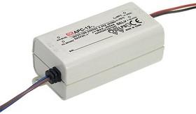 APC-12-700, AC/DC LED, 9-18В,0.7А,12.6Вт,IP30 блок питания для светодиодного освещения