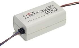 Фото 1/4 APV-16-12, AC/DC LED, 12В,1.25А,15Вт,IP42 блок питания для светодиодного освещения