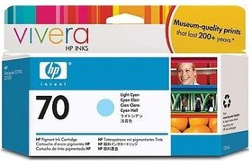 Картридж HP №70 светло-голубой [c9390a]