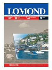 Пленка Lomond 0710421 A4/10л./прозрачный универсальная (с покрытием)