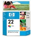 Картридж HP 22 C9352AE, многоцветный