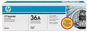 Картридж HP 36A CB436A, черный