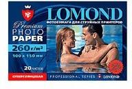 Фотобумага Lomond 1103105 10x15/260г/м2/ 500л./ярко-белый высокоглянцевое для струйной печати