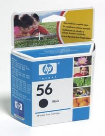 Картридж HP №56 C6656AE, черный