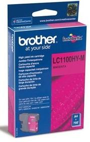Картридж BROTHER LC1100HYM пурпурный