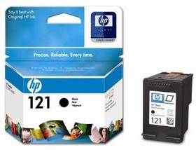 Картридж HP №121 CC640HE, черный