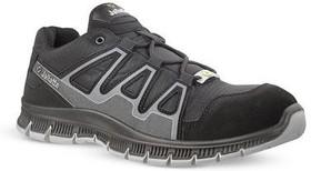 JALCATCH JNU26 42, Jalcatch Black Polymer Toe Unisex Safety Shoes, UK 8, US 8.5