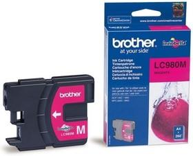 Картридж BROTHER LC980M пурпурный