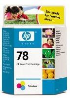 Картридж HP №78 многоцветный [c6578d]