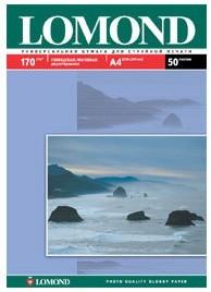 Фотобумага LOMOND 0102012, для струйной печати, A3, 170г/м2, 100 листов