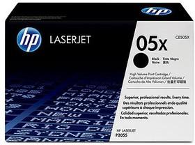 Двойная упаковка картриджей HP CE505XD черный