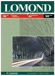 Фотобумага Lomond 0102004 A4/130г/м2/100л./белый матовое/матовое для струйной печати
