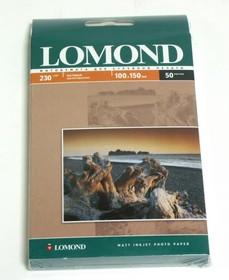Фотобумага Lomond 0102034 10x15/230г/м2/50л./белый матовое для струйной печати
