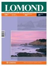 Фотобумага Lomond 0102032 A4/170г/м2/25л./белый матовое/матовое для струйной печати