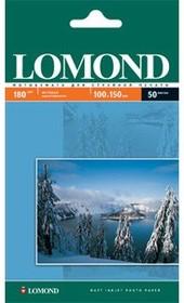 Бумага Lomond 0102083 10x15/180г/м2/600л./белый матовое для струйной печати