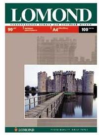Фотобумага Lomond 0102001 A4/90г/м2/100л./белый матовое для струйной печати