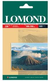 Бумага Lomond 0102082 10x15/230г/м2/500л./белый глянцевое для струйной печати