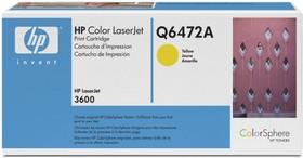 Картридж HP Q6472A желтый