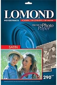 Бумага LOMOND 1108200, для струйной печати, A4, 290г/м2, 20 листов