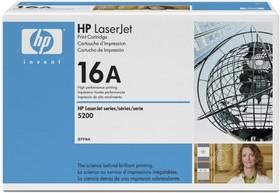 Картридж HP 16A Q7516A, черный