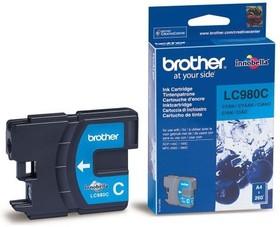 Картридж BROTHER LC980C голубой
