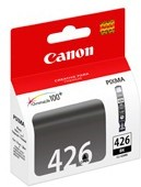 Картридж CANON CLI-426BK 4556B001, черный