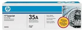Картридж HP 35A CB435A, черный