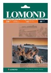 Фотобумага Lomond 0102069 A5/230г/м2/50л./белый матовое для струйной печати